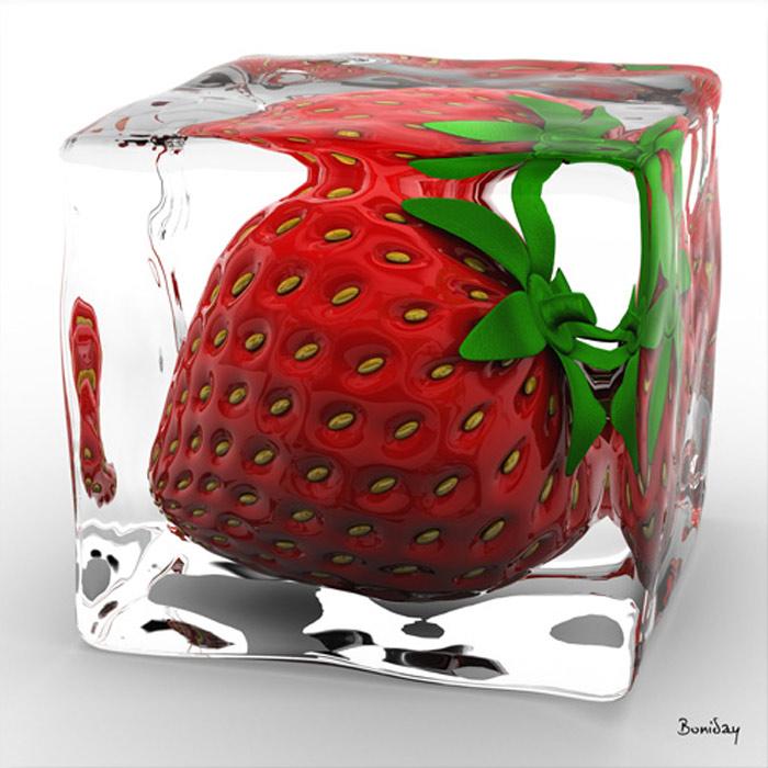 tableau-design-fraise-givre-700