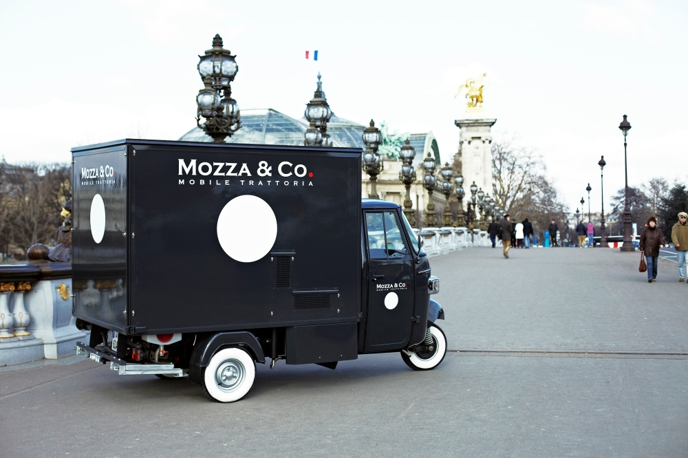 Mozza & Co - Triporteur - Pont