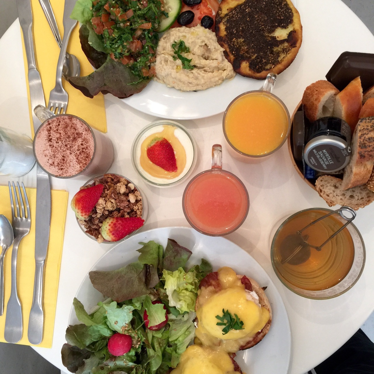 CAFÉ MADAM : LE BRUNCH FRANCO-LIBANAIS